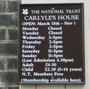 carlyles-house